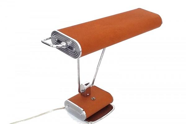 restauration cuir lampe design