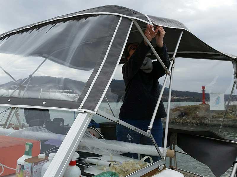 Comment changer son taud de bateau