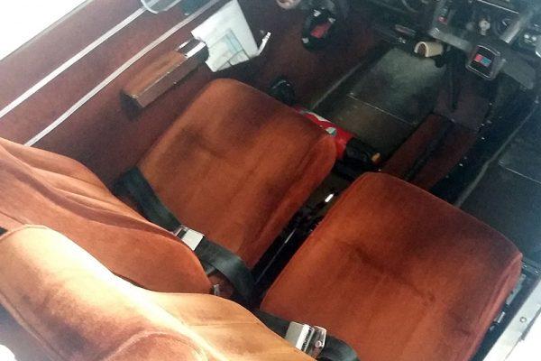 rénovation siège avion