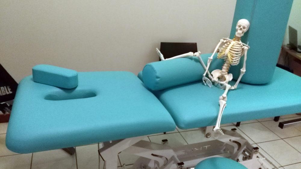 Remise à neuf table de massage et table de consultation